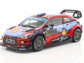 Hyundai i20 WRC #11 2nd Rallye Monte Carlo 2019 Neuville, Gilsoul 1:24 Ixo