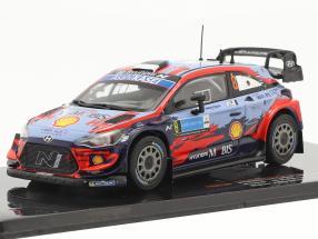 Hyundai i20 Coupe WRC #8 Winner Rally Estonia 2020 Tänak, Järveoja 1:43 Ixo