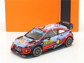 Hyundai i20 Coupe WRC #6 3rd Rallye Catalunya 2019 Sordo, del Barrio 1:18 Ixo