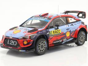 Hyundai i20 Coupe WRC #19 4th Rallye Catalunya 2019 Loeb, Elena 1:18 Ixo