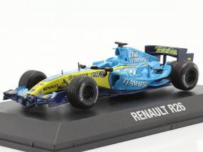 Fernando Alonso Renault R26 #1 formula 1 World Champion 2006 1.43 Norev