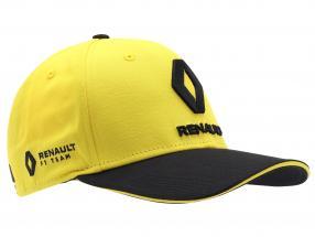 Cap Renault F1 Team 2019 #27 Hülkenberg gelb / schwarz Größe M / L