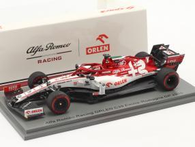 K. Räikkönen Alfa Romeo Racing C39 #7 Emilia-Romagna GP formula 1 2020 1:43 Spark
