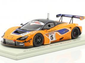 McLaren 720S GT3 #5 8th Gulf 12h Abu Dhabi 2018 McLaren Motorsport 1:43 Spark