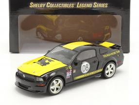 Ford Mustang Shelby GT #08 Terlingua Racing 2008 black 1:18 ShelbyCollectibles