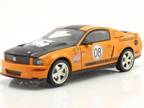 Ford Mustang Shelby GT #08 Terlingua Racing 2008 orange 1:18 ShelbyCollectibles