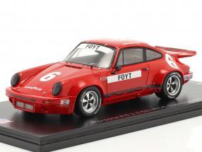 Porsche RS 3.0 #6 6th IROC Daytona 1974 A. J. Foyt 1:43 Spark