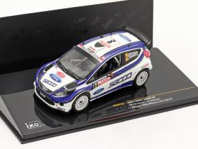 Ford Fiesta S2000 #2 Hirvonen, Lehtinen Winner Rally Monte Carlo 2010 1:43 Ixo