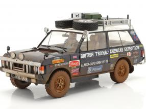 Land Rover Range Rover British Trans-Americas Expedition 1971-72 Dirty Version 1:18 Almost Real