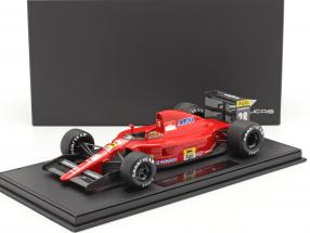 Jean Alesi Ferrari 642 #28 formula 1 1991 with showcase 1:18 GP Replicas