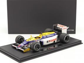 Nigel Mansell Williams FW11 #5 Formel 1 1986 mit Vitrine 1:18 GP Replicas