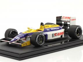 Nelson Piquet Williams FW11 #6 Formel 1 1986 mit Vitrine 1:18 GP Replicas