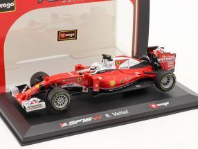 Sebastian Vettel Ferrari SF16-H #5 formula 1 2016 Ray-Ban 1:32 Bburago
