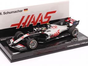 Mick Schumacher Haas VF-20 #50 Abu Dhabi Test formula 1 2020