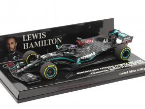 L. Hamilton Mercedes-AMG F1 W11 #44 Sieger Steiermark GP Formel 1 Weltmeister 2020 1:43 Minichamps