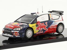 Citroen C4 WRC #7 Ogier, Ingrassia Winner Rallye Portugal 2010 1:43 Ixo