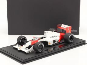 A. Prost McLaren MP4/5 #2 Formel 1 Weltmeister 1989 mit Vitrine 1:18 GP Replicas
