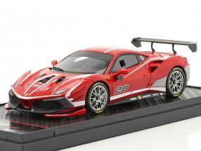 Ferrari 488 Challenge Evo #28 2020 corsa red 1:43 BBR