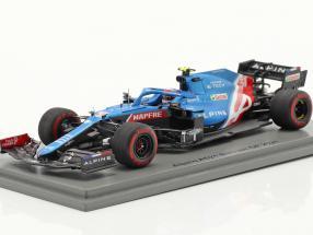Esteban Ocon Alpine A521 #31 Bahrain GP Formel 1 2021 1:43 Spark