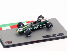 Denis Hulme Brabham BT24 #2 Formel 1 Weltmeister 1967 1:43 Altaya