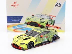 Aston Martin Vantage AMR #97 24h LeMans 2020 Lynn, Martin, Tincknell 1:18 Spark
