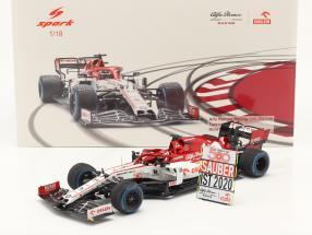 Kimi Räikkönen Alfa Romeo Racing C39 #7 Türkei GP Formel 1 2020 1:18 Spark