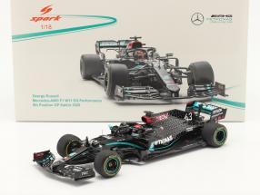 George Russell Mercedes-AMG F1 W11 #63 Sakhir GP Formel 1 2020 1:18 Spark