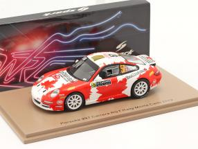 Porsche 997 Carrera RGT #57 Rallye Monte Carlo 2019 Crerar, Kröner 1:43 Spark