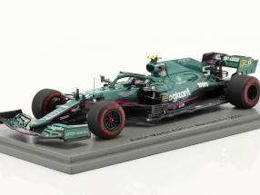 Sebastian Vettel Aston Martin AMR21 #5 Bahrain GP Formel 1 2021 1:43 Spark