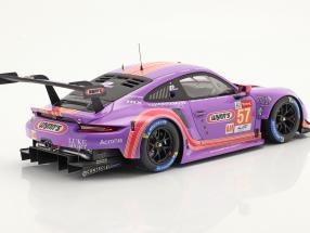 Porsche 911 RSR #57 24h LeMans 2020 Bleekemolen, Fraga, Keating
