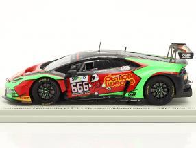 Lamborghini Huracan GT3 #666 24h Spa 2016 Barwell Motorsport