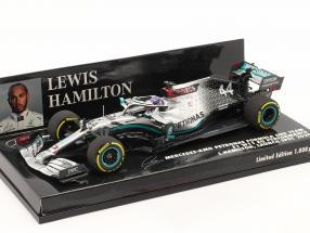 L. Hamilton Mercedes-AMG F1 W11 #44 Launch Spec F1 Weltmeister 2020 1:43 Minichamps