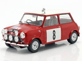 Mini Cooper S RHD #8 RAC Rally 1965 Hopkirk, Liddon 1:18 Ixo