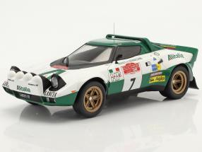 Lancia Stratos HF #7 Rallye San Remo 1975 Pinto, Bernacchini 1:18 Ixo