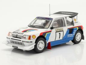 Peugeot 205 T16 E2 #1 Winner Rally 1000 Lakes 1986 Salonen, Harjanne 1:24 Ixo