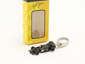 Ayrton Senna Schlüsselanhänger Lotus 97T #12 Formel 1 1985 1:87 Ixo
