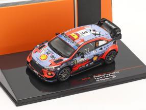 Hyundai i20 Coupe WRC #6 3rd ACI Rallye Monza 2020 Sordo, Del Barrio 1:43 Ixo
