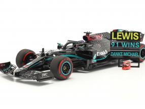 L. Hamilton Mercedes-AMG F1 W11 #44 91st Win Eifel GP F1 2020 1:18 Minichamps