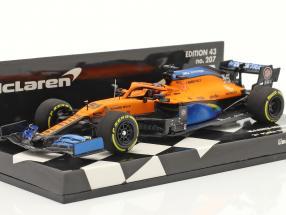 Carlos Sainz McLaren MCL35 #55 2nd Italien GP F1 2020 1:43 Minichamps