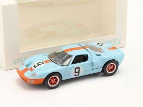 Ford GT40 #9 Sieger 24h LeMans 1968 Jet Car 1:43 Norev