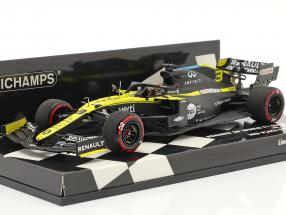 Daniel Ricciardo Renault R.S.20 #3 3rd Eifel GP Formel 1 2020 1:43 Minichamps