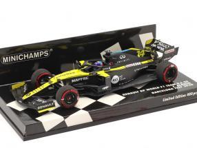 Fernando Alonso Renault R.S.20 #14 Barcelona Test Formel 1 2020 1:43 Minichamps