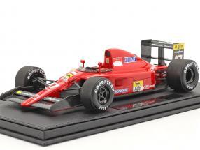 Alain Prost Ferrari 642 #27 Formel 1 1991 mit Vitrine 1:18 GP Replicas