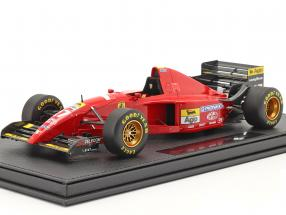 Jean Alesi Ferrari 412T2 #27 Formel 1 1995 mit Vitrine 1:18 GP Replicas