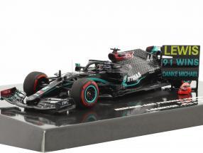 Hamilton Mercedes-AMG F1 W11 #44 91st Win Eifel GP Formel 1 2020 1:43 Minichamps