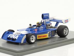 Carlos Pace Surtees TS16 #18 4th Brazilian GP formula 1 1974 1:43 Spark