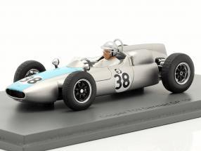 Bernard Collomb Cooper T53 #38 German GP formula 1 1961 1:43 Spark