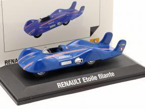 Renault Etoile Filante Speed Record Car 1956 blau 1:43 Norev