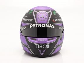Lewis Hamilton #44 Mercedes-AMG Petronas formula 1 2021 helmet 1:2 Bell