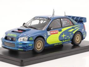 Subaru Impreza S9 WRC #7 Winner Rallye GB Wales 2003 Solberg, Mills 1:24 Altaya